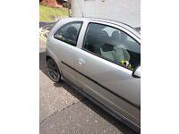 Vauxhall corsa1.2 sxi 7 months mot... been in a slight bump!! Drives well though