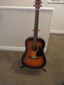 Fender guitar, ideal for anyone starting to play