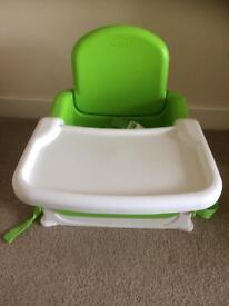 Munchkin adjustable dining booster seat
