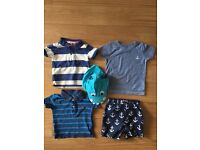 Summer collection, boy 9-12m, JL/GAP/NEXT/M&S