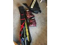 Rossignol Skis and Boots with locust prestige poles