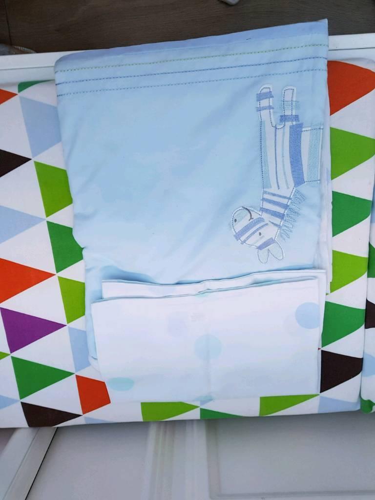 Zebra quilt set and sheet
