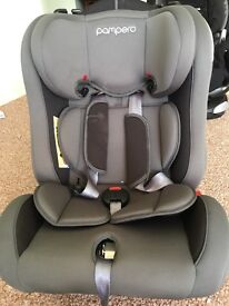 Rear and front facing car seat