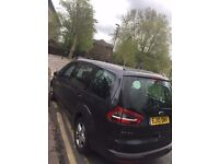 nice & clean ford galaxy with valid pco badge till Oct 2017