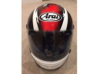 Arai Motorcycle Helmet for sale (Size small 55 - 56cm)
