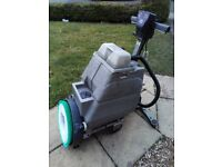 Numatic TT345S Floor Scrubber Dryer Cleaning Machine With New Brush