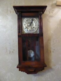WM.L. Gilbert Tall Wall Clock
