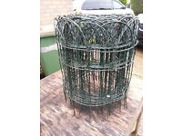 Roll of Lawn or Flower bed Edging Wire