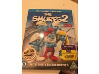 Smurfs 2 in 3D brand new