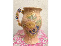 PRICE LOWERED Arthur Wood Jug/Pitcher/Vase, Vintage/Antique Pottery, Shabby Chic