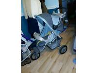 Graco lightweight buggy pram 3-wheeler