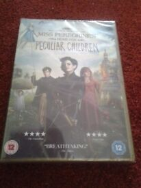 Miss Peregrine's Home For Peculiar Children DVD for sale. (