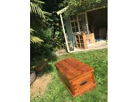 Beautiful John Lewis Wooden Maharani Chest/Blanket Box/Coffee Table