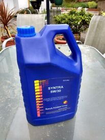 New unopened 5w/30 fully synthetic motor oil...