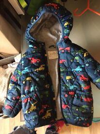 M&S winter coat 12-18 months