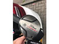 Titleist driver plus woods