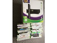 Xbox 360 Kinect with 29 games
