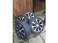 Multifit four stud wheels