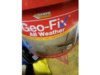 Geo fixing paving sand