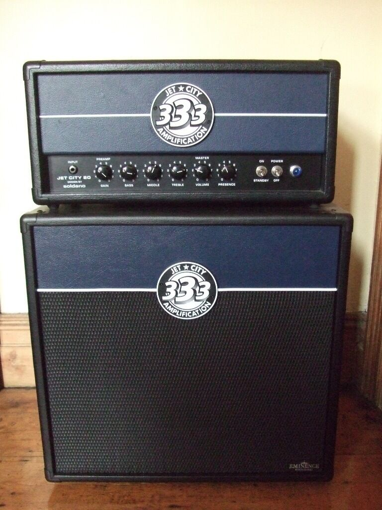 Jet City JCA20H 20 Watt All Tube Amp Head and 1x12 cabinet Soldano ...