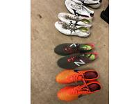 Job lot of football boots
