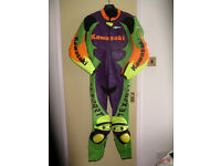 Texport Kawasaki One piece Race Leathers