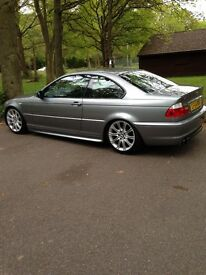BMW e46 3 series coupe / 77k miles / halo's / pioneer radio / custom exhaust / coilovers