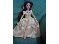 Disney princess porcelain doll the brass key collection