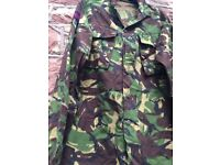 Army combat clothes and accessories suitable for fancy dress