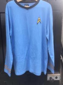 Spock Star Trek shirt.