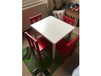 Free IKEA kids table and chairs