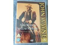 She Wore A Yellow Ribbon DVD