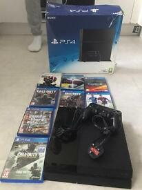 PS4 with 6 games