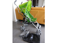 Chicco Snappy Stroller - green