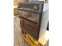 ROSE 6070 caravan, camper, motorhome or boat gas oven with grill.