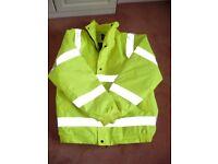 High Viz Jacket. Dickies. Size XL. Hardly Worn. Very Good Condition.