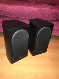 Pioneer Andrew Jones SP-BS22-LR Bookshelf Loudspeaker - 2 Way, 55Hz-20kHz, 80 W