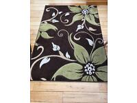 Rug and Curtain Set