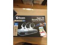 Swann 8 Channel Digital video recorder & 4 cameras (Pro-Series HD 5MP) Brand New & Unused