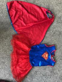 Superwoman dress age 5