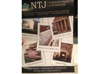 NTJ BRICKWORK AND STONEWORK ALL BUILDING WORK UNDERTAKEN