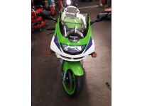 Kawasaki zx6r very low miles £1595ono