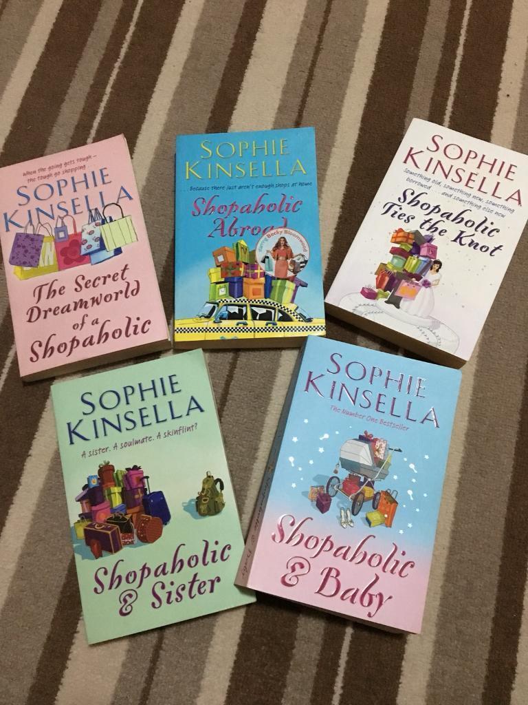 Sophie Kinsella 5x Shopaholic Series of Books