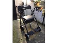 Rollator transit chair