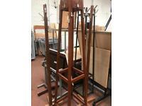 Coat Stands- Free Standing - Metal / Wood