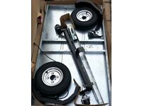 Car trailer Caddy 530 new and unused in flat pack box 5' x 3' x 3'