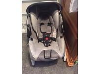 Recaro young profi plus car seat and pram adaptors