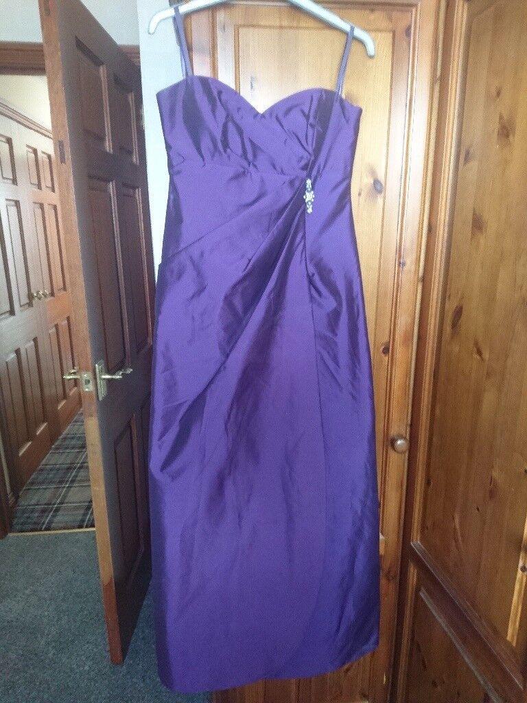 Beautiful purple formal, bridesmaid dress