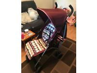 Mamas and Papas Swirl pushchair / stroller and accessories