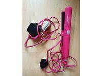 Hair straigteners - pink.